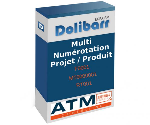 Multi numérotation pour Dolibarr