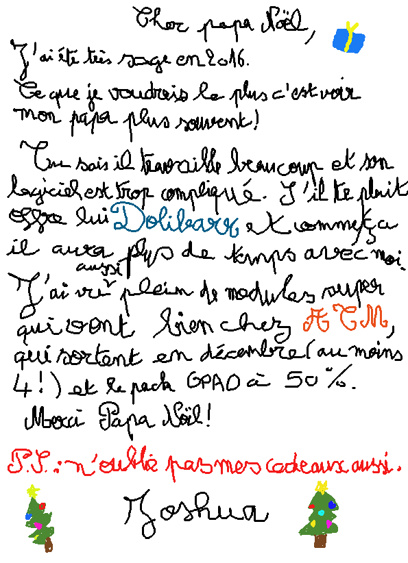 Ma lettre Dolibarr