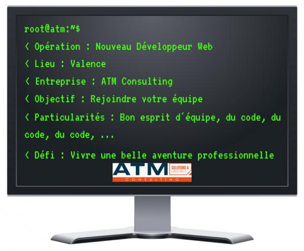 offre d'emploi ATM développeur