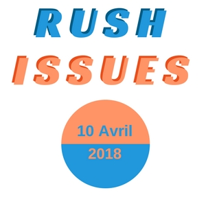 Rush issues ATM Avril 2018