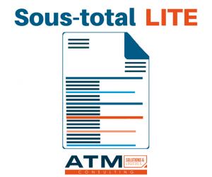 Module Sous-total Lite ATM pour Dolibarr