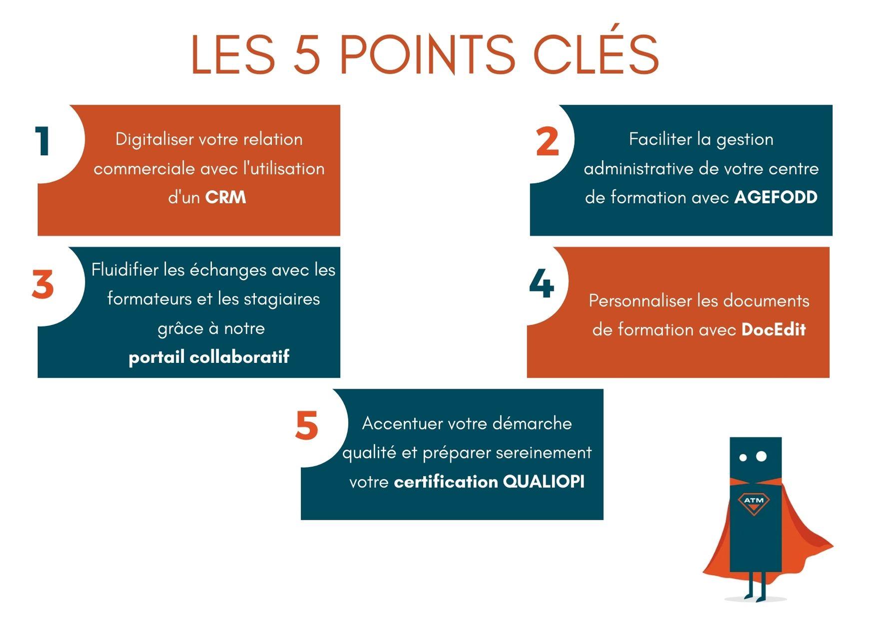 Les 5 points clés