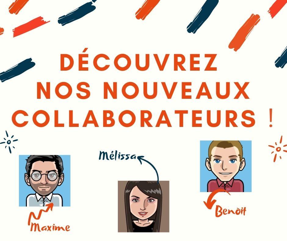 découvrez nos nouveaux collaborateurs !