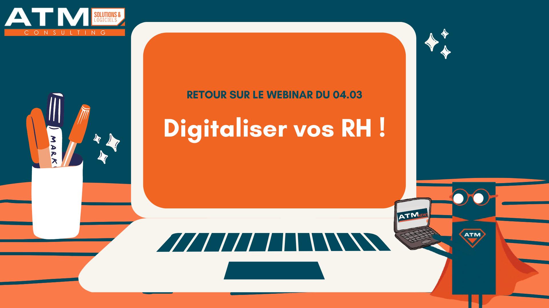 WEBINAR Digitalisez vos RH