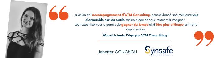 Témoignage de Synsafe sur son accompagnement digital par ATM Consulting