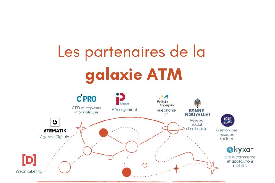 Les partenaires de la Galaxie ATM